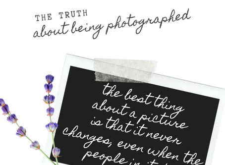 The 3 lies we tell ourselves about being photographed