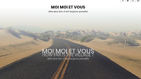 Chronique faite Moi Moi et vous ? chroniqueuse Camerounaise ... et oui...le livre voyage !