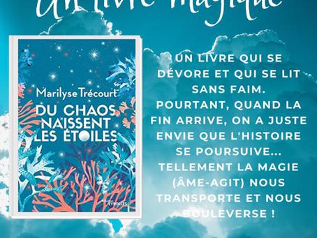 Un livre magique : Du Chao naissent les étoiles