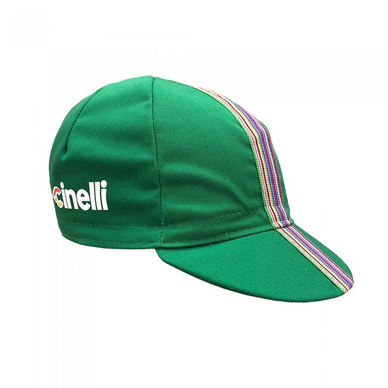 CINELLI CIAO GREEN Cap כובע רכיבה