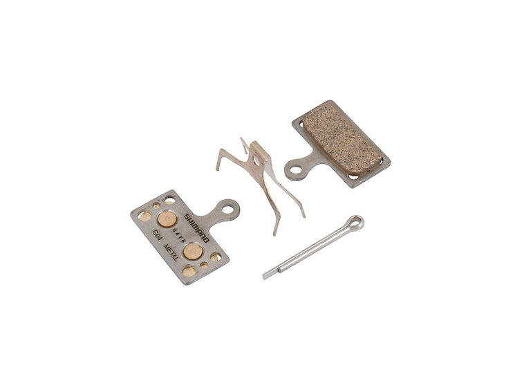 Shimano G04A Metal Pad & Spring W/ Split Pin For BRM8000 רפידה
