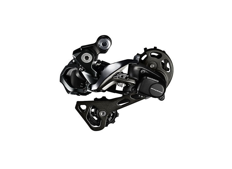 Shimano 8050 XT DI2 11 Spd Rear Derailleur Shadow+ מעביר אחורי