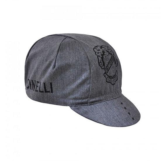 Cinelli Crest Grey Cap כובע רכיבה