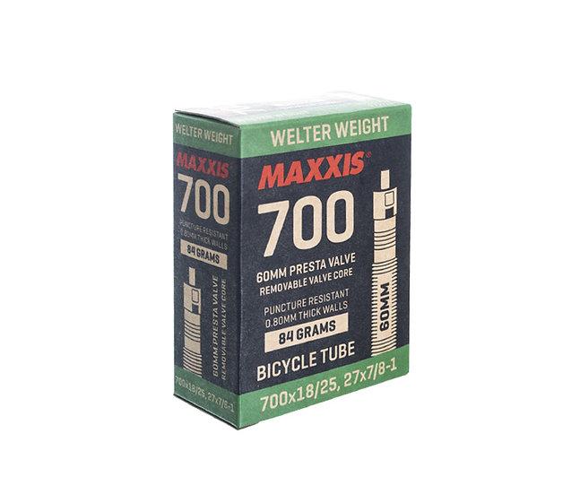Maxxis tube 700X18/25  פנימית כביש ונטיל 60/42ממ