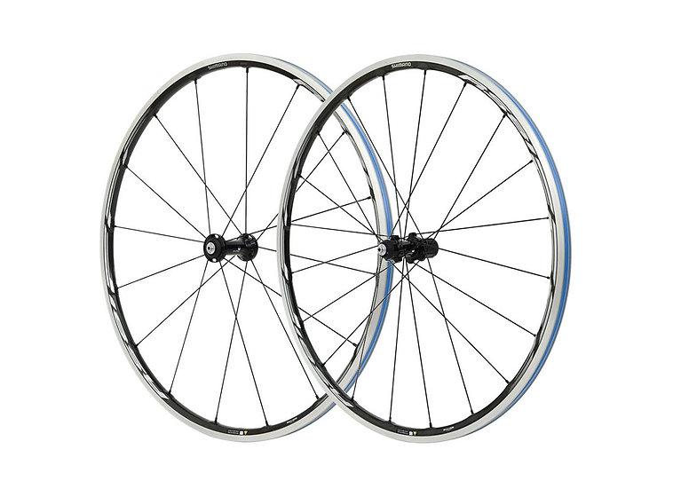 Shimano WHRS81 10-11 Spd Road Carbon Wheelset Clincher C24 סט גלגלים