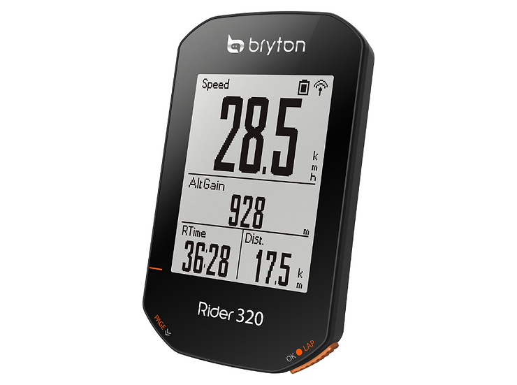 Bryton Rider 320 T מחשבון רכיבה