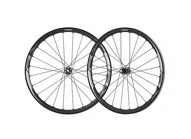 Shimano WH-RX830 10-11 Spd Center Lock Wheelset Tubeless סט גלגלים