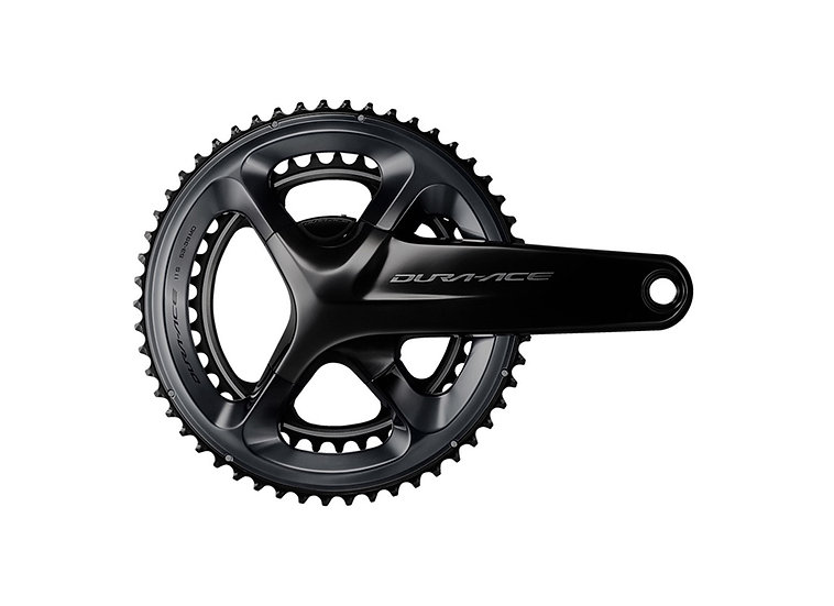 Shimano (9100) Dura-Ace 11 Spd Hollowtech-2 Crankset w/o BB parts קראנק
