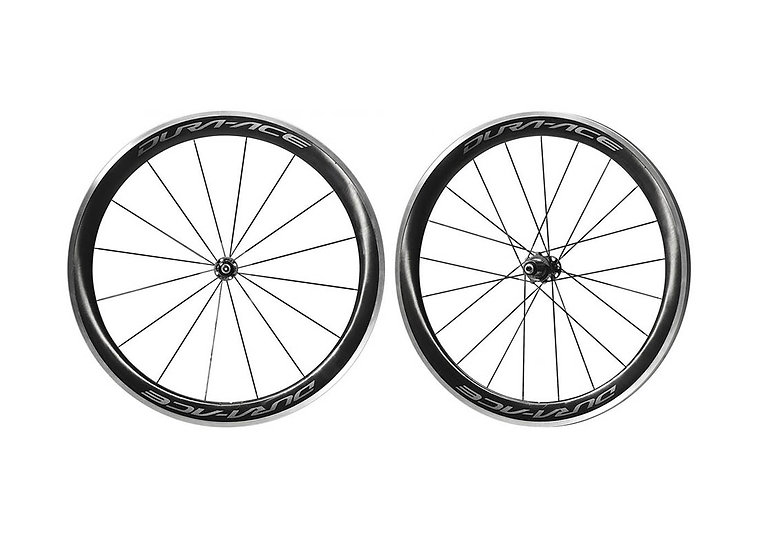 Shimano WH-R9100 10-11 Spd Road Carbon Wheelset Clincher סט גלגלים