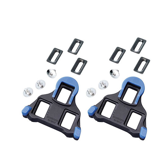 Shimano (SH12) Cleat Blue קליטים לפדלים כביש