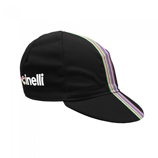 CINELLI CIAO BLACK Cap כובע רכיבה