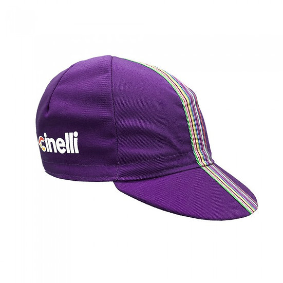 CINELLI CIAO PURPLE Cap כובע רכיבה