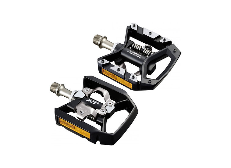 Shimano T8000 Deore XT SPD Pedal W/ Reflector פדל דו שימושי