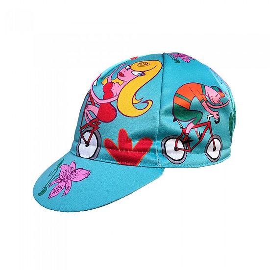MASSIMO GIACON 'SPRINGTIME' Cap כובע רכיבה