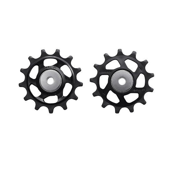 Shimano (RD-M8100) Tension & Guide Pulley Set סט פולים