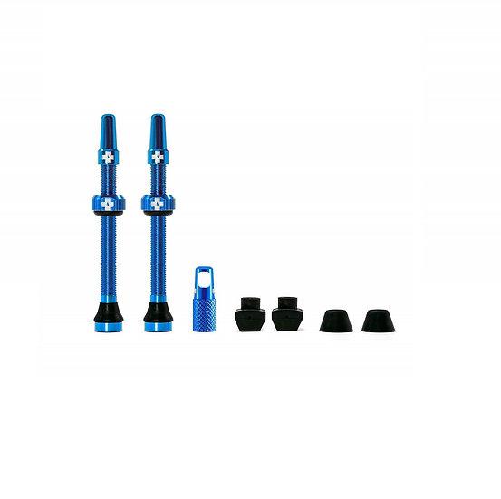 Muc-Off Tubeless Presta Valve Blue (Pair) סט ונטילים כחול לטיובלס