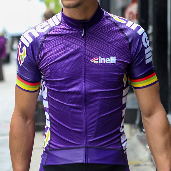Cinelli Italo '79 Aero Purple Jersey