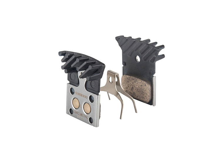 Shimano (L04C) Metal Pad & Spring W/Fin רפידה