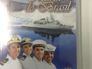 """A palestra vocacional """"Como ingressar na Marinha do Brasil"""" ministrada pelos oficiais da D"""