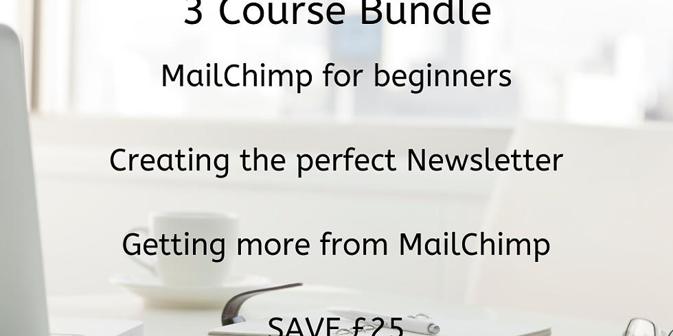 3 Course Bundle - MailChimp