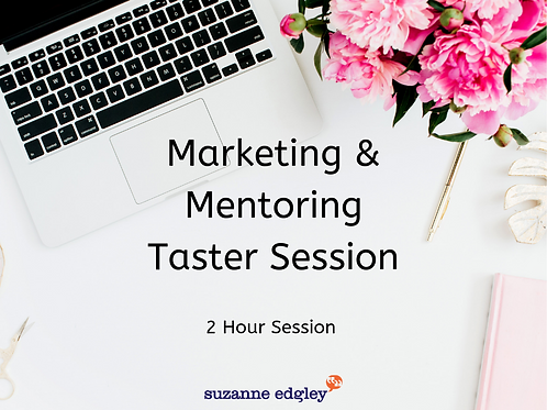 Marketing & Mentoring Taster Session