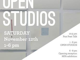 Pratt MFA Open Studio 2016