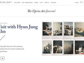 Inside the Studio 'Visit with Hyun Jung Ahn' on The Uprise Art Journal
