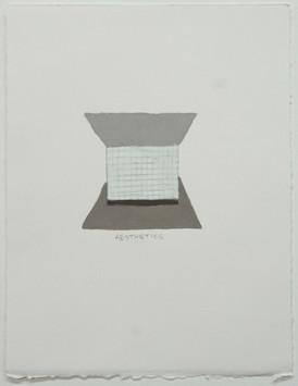 14 Aesthetics, 2018, crayon on paper, 11