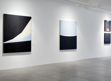 Hyun Jung Ahn Solo exhibition 'Shapes of Mind' gallery view