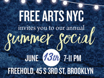 FREE ARTS NYC Summer Social Auction