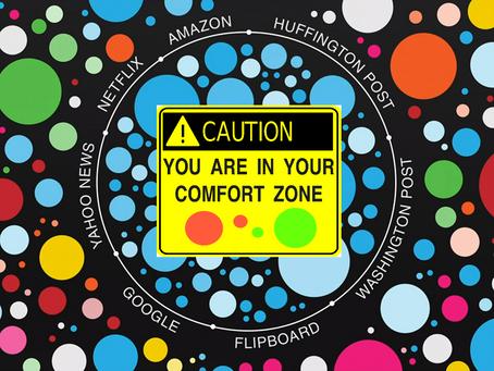 Thought Experiment: Social Media Filter Bubbles
