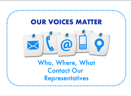 Legislative Actions - Who, Where, What
