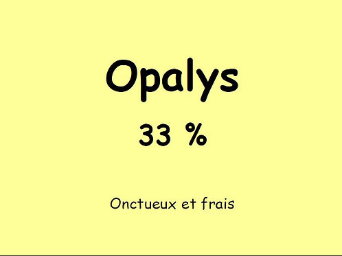 OPALYS 33%