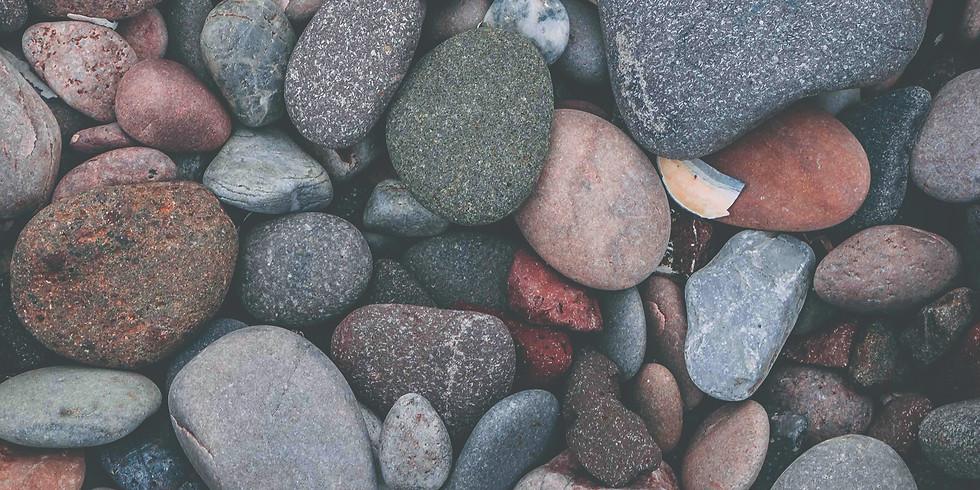 VOLCANIC ROCKS ON THE BEACHES OF SKAGEN