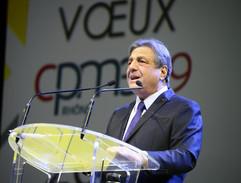 Les voeux de François Turcas (CPME)