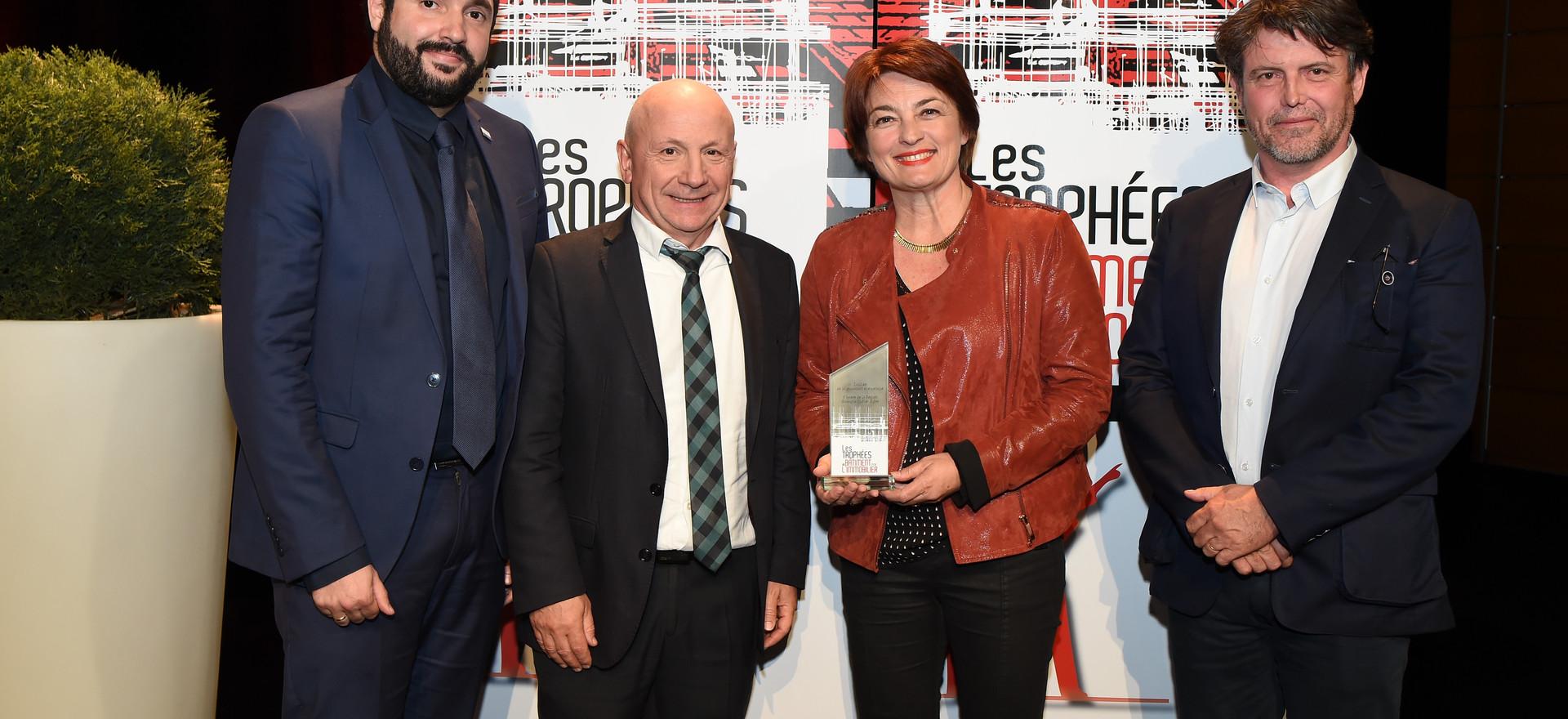 Trophée de la RÉNOVATION ÉNERGÉTIQUE