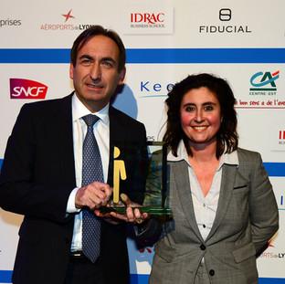 Trophée de la Femme Cheffe d'Entreprise de l'Année