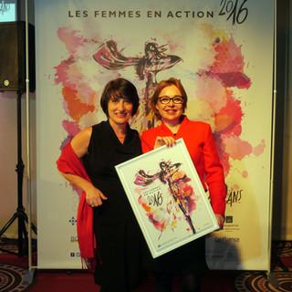 TROPHÉE DE LA FEMME INTERNATIONALE