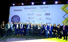Photo finale soirée de remise des trophées de la Fête de l'Entreprise 2020