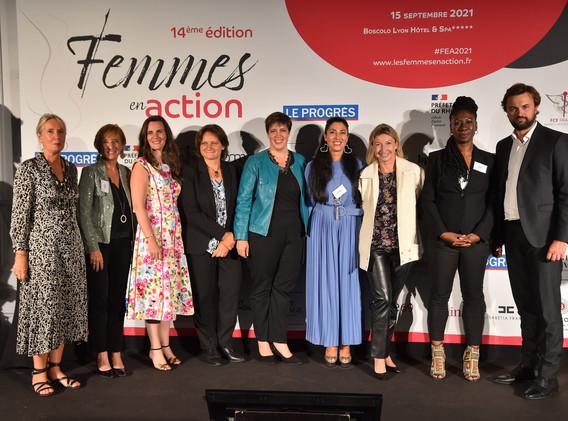 Les lauréates et partenaires de l'édition 2021