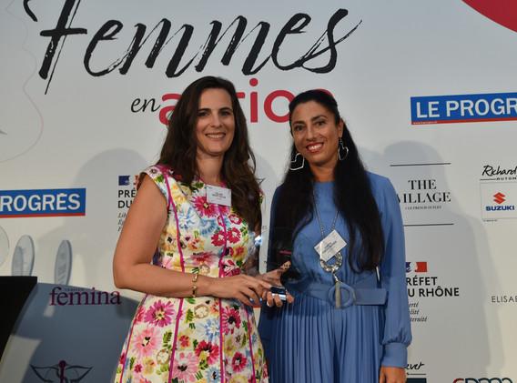 Trophée de la Femme à l'International