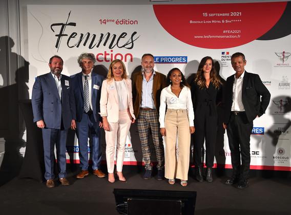 Lauréates et partenaires de l'édition 2021