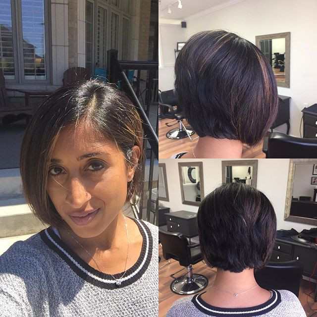 This is the short hairstyle I chose to go with to help with the chemotherapy hair loss