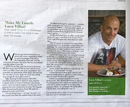 luca villar italian chef auckland catering