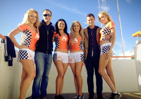 V8 Promo for ATEED with Greg Murphy