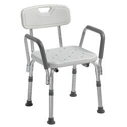 12445KD-1 Chaise de bain avec appui-bras