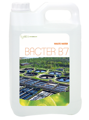 BACTER B7 : Waste water biological treatment