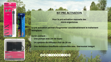 Kits de pré activation disponibles