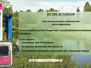 Kits de pré activation disponibles