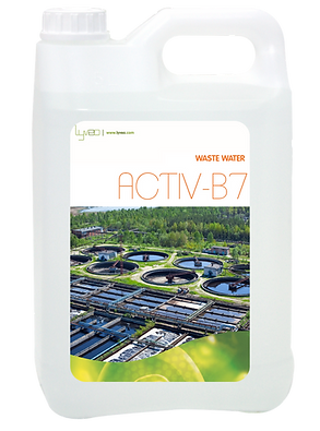 ACTIV-B7: Biological enhancer for the waste water treatment